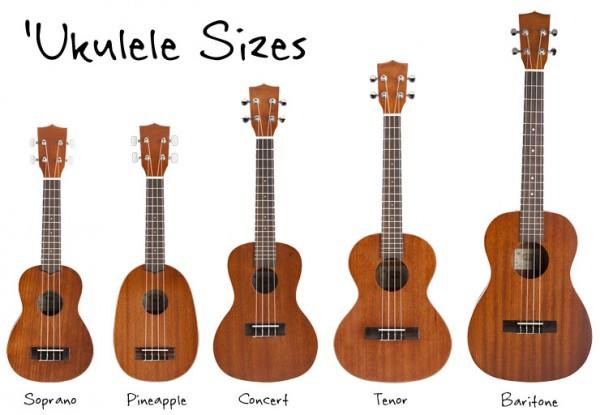 Что такое укулеле? Основные типы укулеле и правила выбора инструмента