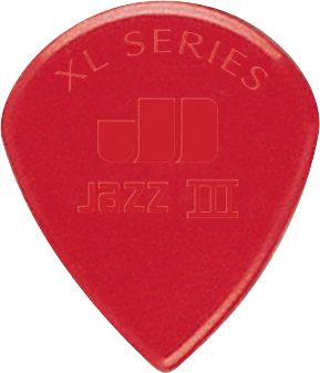 Медиаторы DUNLOP 47RXLN JAZZ III XL RED