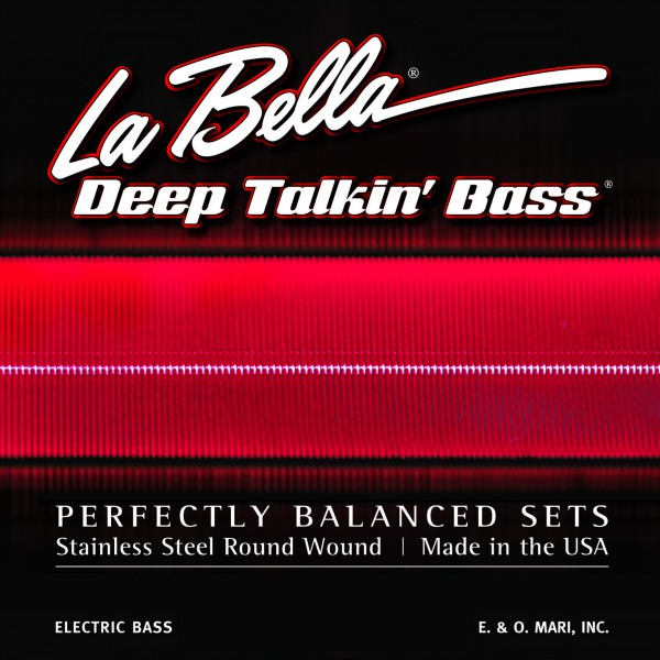 LA BELLA 760RL-B DEEP TALKING BASS - (41-58-83-102-128)